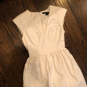 French Connection Flirty White Dress